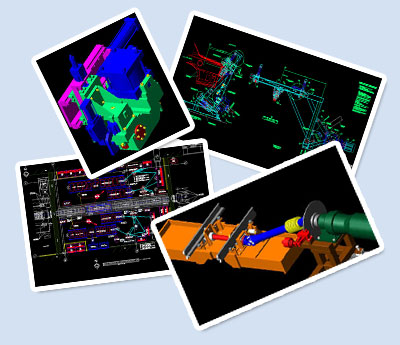 View the Portfolio of our 2D and 3D Engineering Drawings